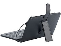 "TOUCHLET 7""-Tablet-Hülle mit USB-Tastatur, Leder-Look (refurbished)"