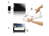 TOUCHLET Universal TransPad inkl. Adapter für Samsung Galaxy S4